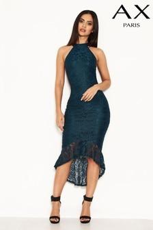 679cce09bbbe2 AX Paris Dip Hem Lace Dress
