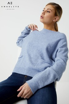 Angeleye Crew Neck Soft Knit Jumper