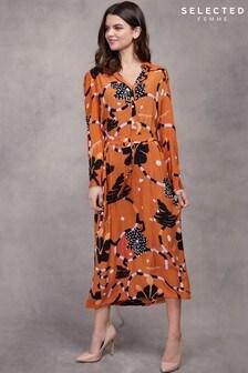 Selected Femme Multi Midi Dress