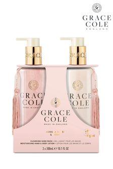 Grace Cole Vanilla Blush & Peony Hand Care Duo Set 2x300ml