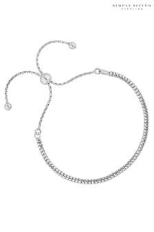 Simply Silver Slinky Bracelet