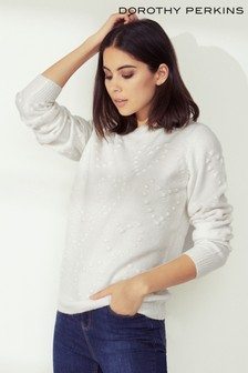 Dorothy Perkins Heart Bobble Jumper