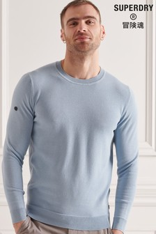 Superdry Cotton Crew Knitted Jumper