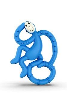 Matchstick Monkey Blue Mini Monkey Teether