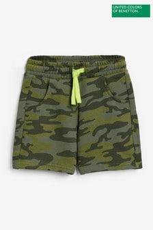 Benetton Camo Shorts