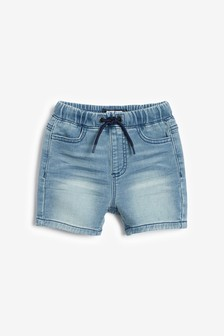 Jersey Denim Shorts (3mths-7yrs)