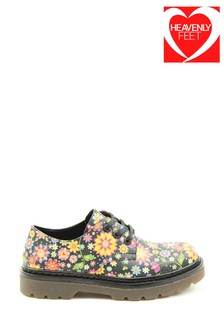 Heavenly Feet Ladies Liberty Casual Lace Shoes