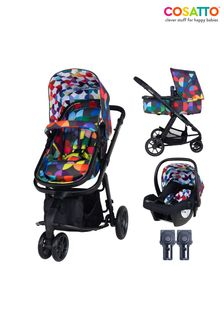 Cosatto Giggle 2 in 1 Pushchair Bundle with Car Seat Kaleidoscope