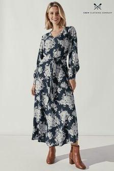 Crew Clothing Company Natural Tara Dress