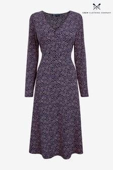 Crew Clothing Company Natural Nina Dress
