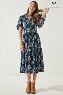 Crew Clothing Company Natural Athena Dress