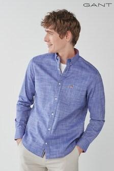 GANT Regular Cotton Twill Slub Shirt