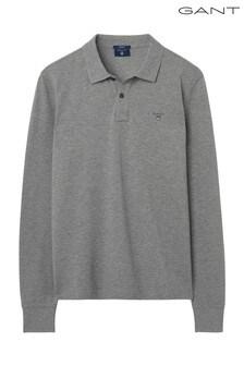 GANT Original Long Sleeve Rugger Poloshirt