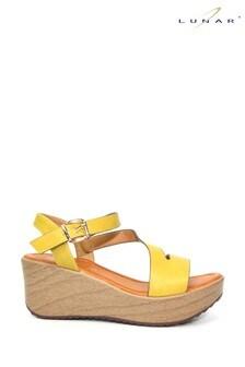 Lunar Lime Cullen Wedge Sandals