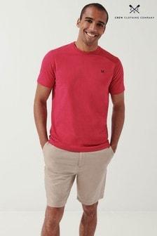 Crew Clothing Company Mens Natural Crew Classic T-Shirt