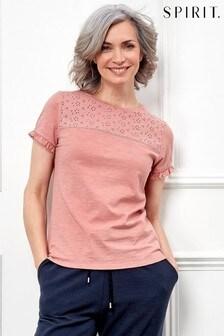 Spirit Pink Frill T-Shirt