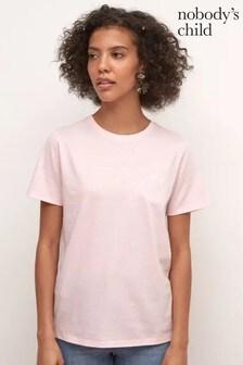 Nobody's Child Pink Love Yourself Slogan T-Shirt