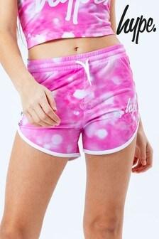 Hype. Kids Pink Multi Shorts
