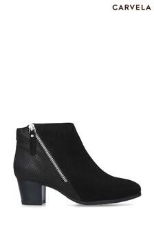 Carvela Comfort Black Rachel Boots