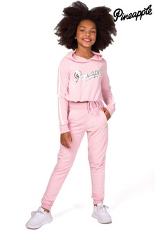 Pineapple Girls Exclusive Hoodie And Joggers Tracksuit Set