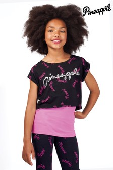 Pineapple Girls All Over Print Double Layer 2 in 1 Top Set