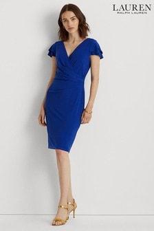 Lauren Ralph Lauren Stretch Pica Dress