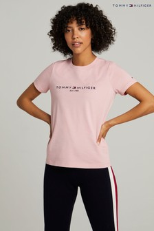 Tommy Hilfiger Pink Regular Hilfiger T-Shirt