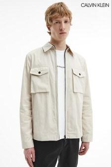 Calvin Klein Stone Light Shirt Jacket