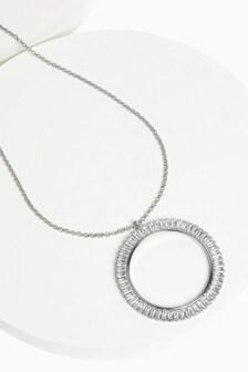 Solaris Long Pendant Necklace