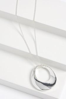 Pavé Long Pendant Necklace