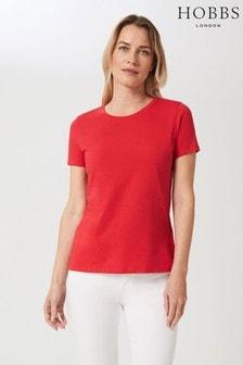 Hobbs Pink Pixie Cotton T-Shirt