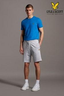 Lyle & Scott Light Grey Marl Sweat Shorts