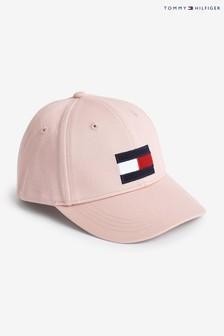 Tommy Hilfiger Pink Flag Cap
