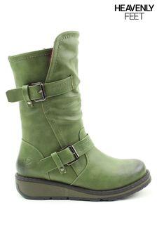 Heavenly Feet Ladies Mid Calf Boots