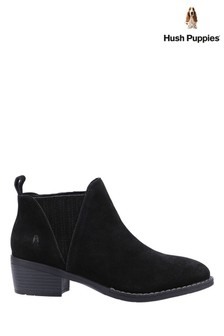 Hush Puppies Black Isobel Ankle Boot
