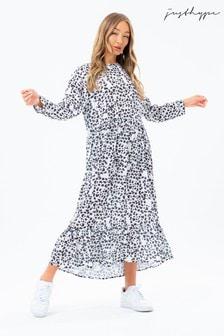Hype. Black Daisy Women's Omorose Dress