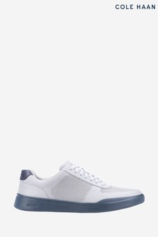 Cole Haan Blue Grand Crosscourt Modern Perf Trainers