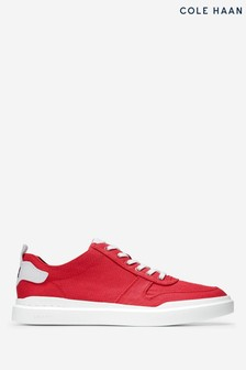 Cole Haan Red Grandpro Rally CA Trainers