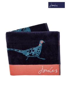 Joules Teal Pheasant Towel