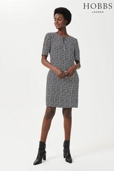 Hobbs Black Tamara Dress