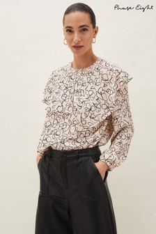 Phase Eight Pink Ida Floral Blouse