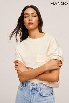 Mango Oversize Cotton T-Shirt