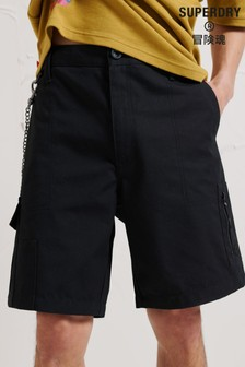 Superdry Black Energy Convenience Store Shorts