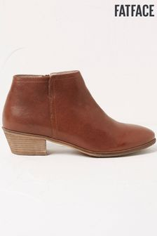 FatFace Brown Lytham Ankle Boots