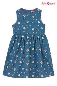 Cath Kidston Blue Charlotte Spitalfields Ditsy Dress