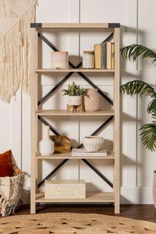 Banbury Designs Metal X Bookcase