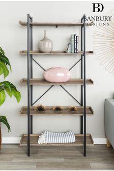 Banbury Designs Urban Pipe Bookshelf