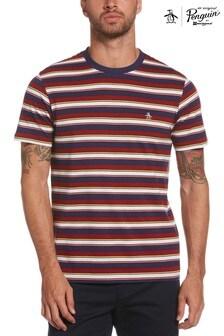 Original Penguin Red Knit Fash T-Shirt