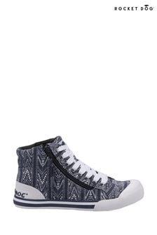 Rocket Dog Grey Jazzin Hi Jena Lace Shoes