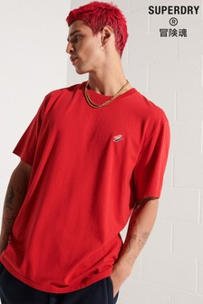 Superdry Mens Red Code Essential T-Shirt